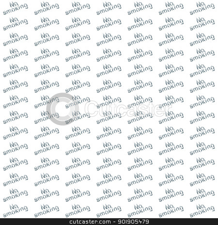 Do not smoke stock vector clipart, Abstract black and white pattern with the words