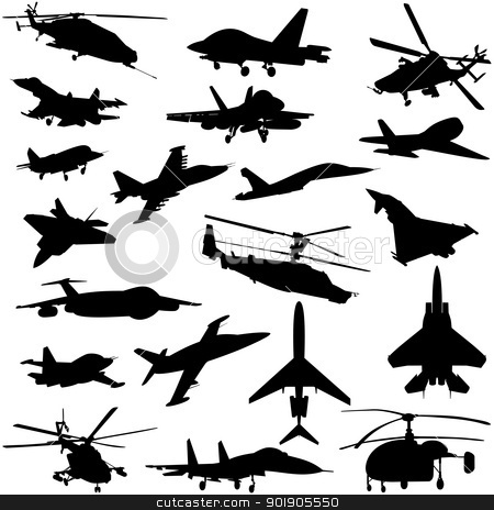 Air transport stock vector