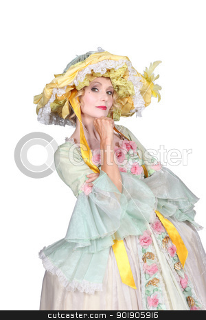 18th century fashion style stock photo, 18th century fashion style by photography33