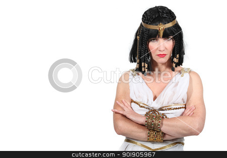 Unhappy Cleopatra stock photo, Unhappy Cleopatra by photography33