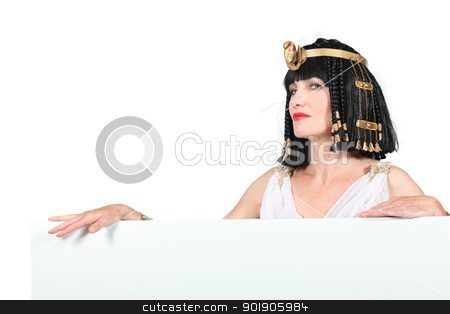 woman in Egyptian costume stock photo, woman in Egyptian costume by photography33