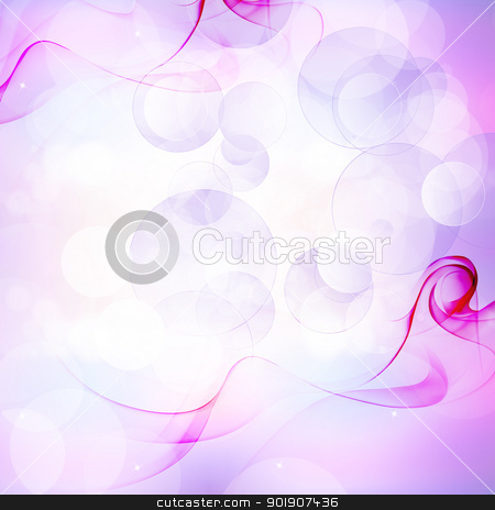 Blue occurrence of bubbles stock photo, Abstract art bubble blue stripes,Abstract light white lines bubble by hitus