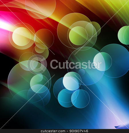 Colorful fantasy bubble, abstract fantasy background stock photo, Abstract bubbles with dark stripes background,Abstract fantasy bubble background by hitus