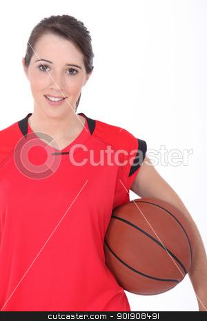Basketball player stock photo, Basketball player by photography33