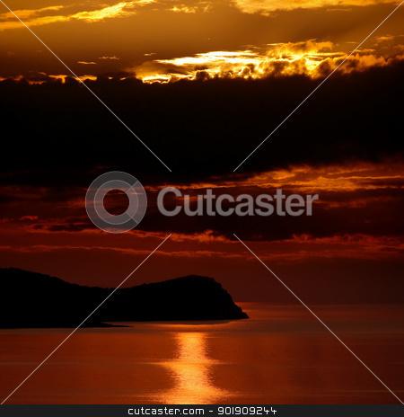 Sunrise over the sea. stock photo, Sunrise over the sea. by Oleksiy Fedorov