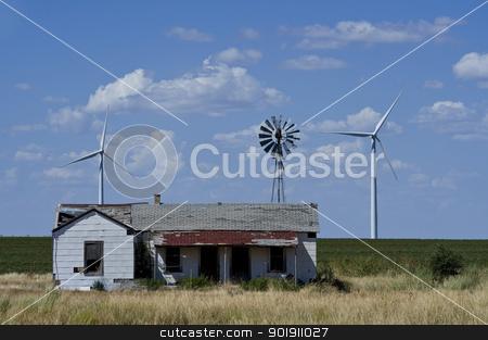 Wind Farm. stock photo,  by WScott