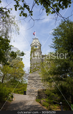 Belbedere castle, Central Park, New York, USA stock photo, Belbedere castle, Central Park, New York, USA by B.F.