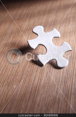 puzzle stock photo, A piece of jigsaw puzzle by eskaylim