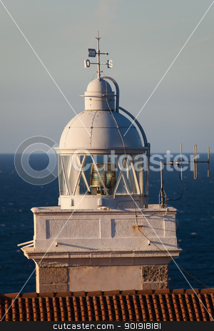 Lighthouse of San Vicente de la Barquera, Cantabria, Spain stock photo, Lighthouse of San Vicente de la Barquera, Cantabria, Spain by B.F.