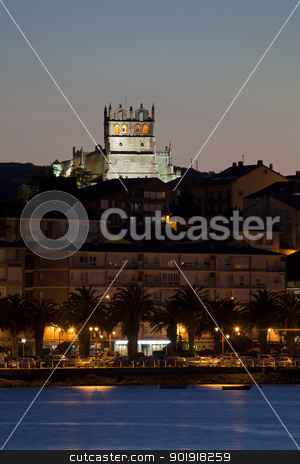 Church of San Vicente de la Barquera, Cantabria, Spain stock photo, Church of San Vicente de la Barquera, Cantabria, Spain by B.F.