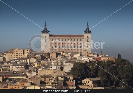 Alcazar of Toledo, Castilla la Mancha, Spain stock photo, Alcazar of Toledo, Castilla la Mancha, Spain by B.F.