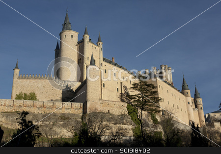 Alcazar, Segovia, Castilla y Leon, Spain stock photo, Alcazar, Segovia, Castilla y Leon, Spain by B.F.