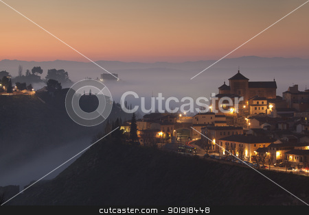 Get dark in Toledo, Castilla la Mancha, Spain stock photo, Get dark in Toledo, Castilla la Mancha, Spain by B.F.