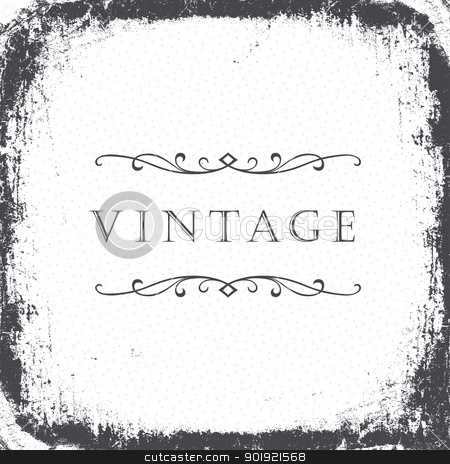 Vintage grunge frame background. Vector, EPS8 stock vector clipart, Vintage grunge frame background. Vector, EPS8 by pashabo