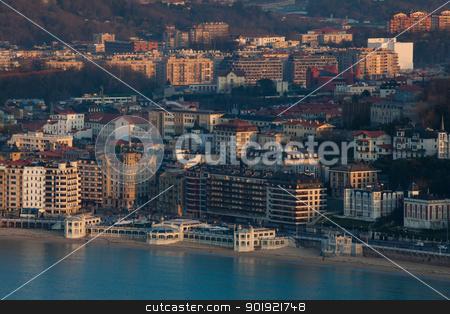 View of San Sebastian, Gipuzkoa, Spain stock photo, View of San Sebastian, Gipuzkoa, Spain by B.F.