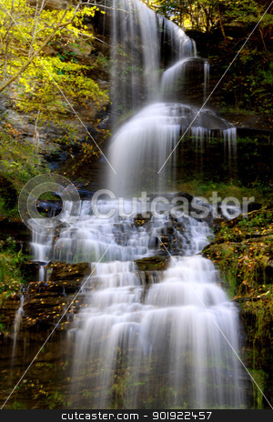 Cascade falls stock photo, Beautiful Cascade water falls in West Virginia by Sreedhar Yedlapati