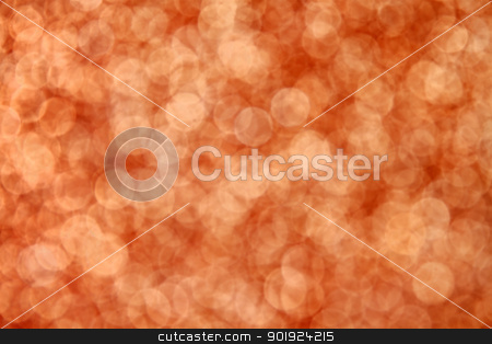 Abstract Autumn Background stock photo, Orange defocused bokeh background great for autumn, Halloween and other holidays by Stephanie Zieber