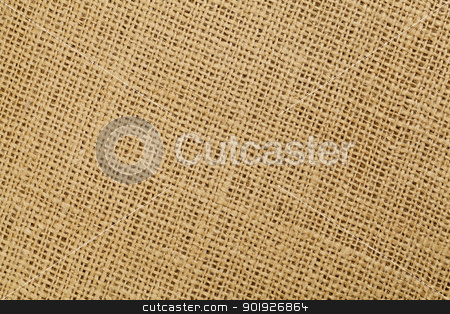 brown burlap texture stock photo, brown burlap fabric background texture with diagonal pattern by Marek Uliasz