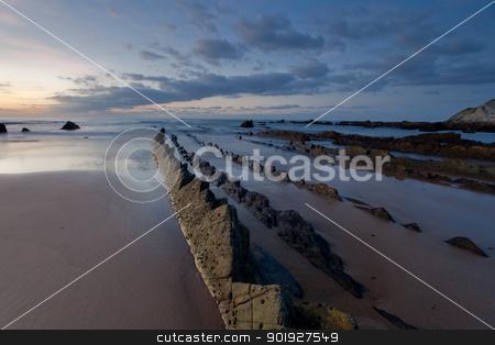 Beach of Barrika, Bizkaia, Basque Country, Spain stock photo, Beach of Barrika, Bizkaia, Basque Country, Spain by B.F.