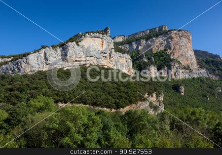 Canyon of the Horadada, Trespaderne, Burgos, Spain stock photo, Canyon of the Horadada, Trespaderne, Burgos, Spain by B.F.