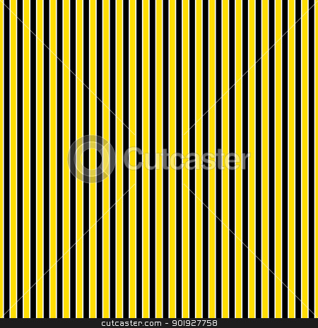 Black, Yellow, & White Stripes stock photo, Seamless black, yellow, & white