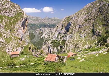 Picos de Europa national park, Asturias, Spain stock photo, Picos de Europa national park, Asturias, Spain by B.F.