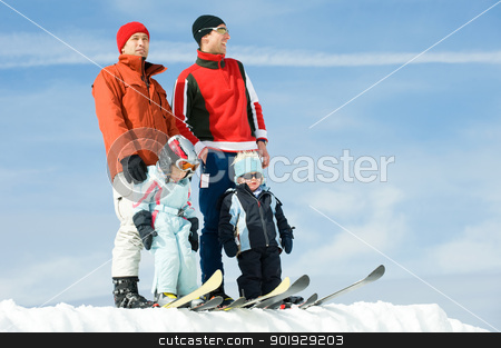 Ski time stock photo, Landhotel Binderhusl Familie Yoshi Keller, Inzell Mrz 2009. by Picturehunter