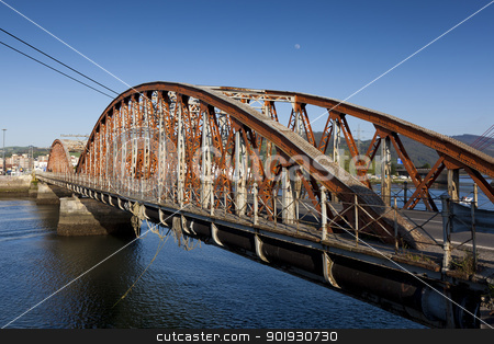 Bridge of Colindres, Cantabria, Spain stock photo, Bridge of Colindres, Cantabria, Spain by B.F.