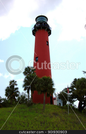 Jupiter Florida Lighthouse stock photo, Jupiter Florida Lighthouse by Liane Harrold