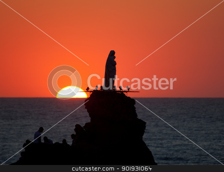 Biarritz, Aquitaine, France stock photo, Biarritz, Aquitaine, France by B.F.