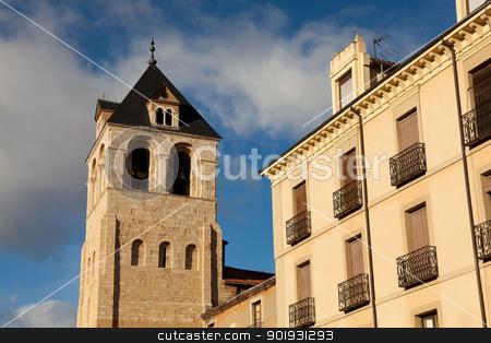 Church of San Isidoro, Leon, Castilla y Leon, Spain stock photo, Church of San Isidoro, Leon, Castilla y Leon, Spain by B.F.