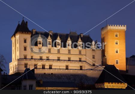 Pau castle, Pyrenees Atlantiques, Aquitaine, France stock photo, Pau castle, Pyrenees Atlantiques, Aquitaine, France by B.F.