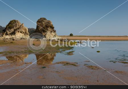 Beach of Urdaibai, Sukarrieta, Bizkaia, Spain stock photo, Beach of Urdaibai, Sukarrieta, Bizkaia, Spain by B.F.