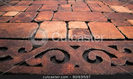 stone wall texture stock photo, Background of stone wall texture by Vitaliy Pakhnyushchyy