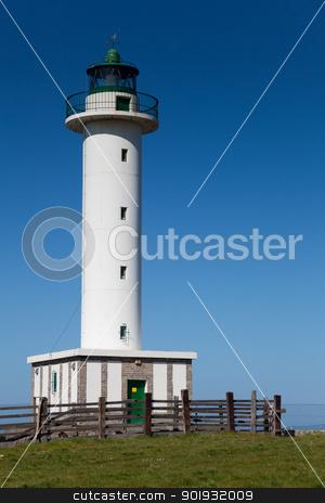 Lighthouse of Llastres, Asturias, Spain stock photo, Lighthouse of Llastres, Asturias, Spain by B.F.