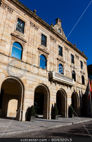 City council of Gijon, Asturias, Spain stock photo, City council of Gijon, Asturias, Spain by B.F.