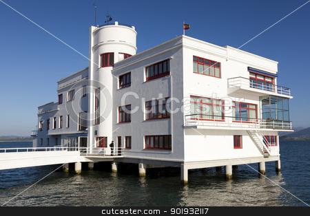 Real club maritimo, Santander, Cantabria, Spain stock photo, Real club maritimo, Santander, Cantabria, Spain by B.F.