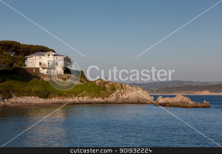 Coast of Santander, Cantabria, Spain stock photo, Coast of Santander, Cantabria, Spain by B.F.