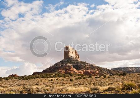 Desert Rock Scenic, Colorado USA stock photo, Desert rock scenic landscape Colorado USA by emattil