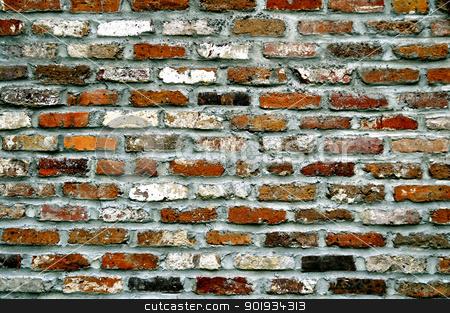 Brick Wall stock photo, Brick Wall by Liane Harrold