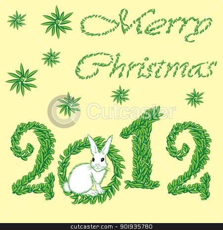 Happy New Year 2012 greeting card stock photo, Happy New Year 2012 greeting card by aarrows
