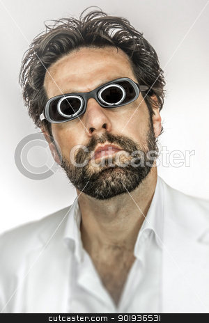 man with cool sun glasses stock photo, An image of a man with cool sun glasses by Markus Gann