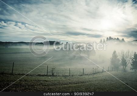 misty scenery stock photo, An image of a nice misty scenery by Markus Gann