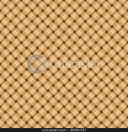 Straw textile background. stock vector clipart, Straw textile background. by vtorous