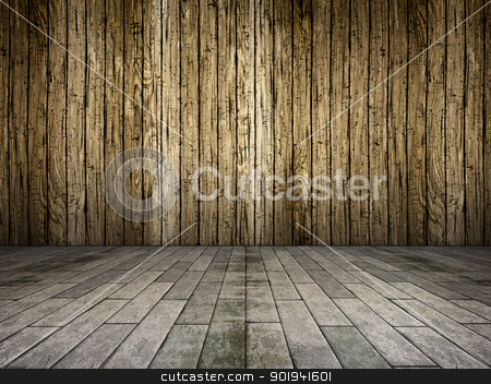 wooden wall stock photo, An image of a nice wooden wall background by Markus Gann