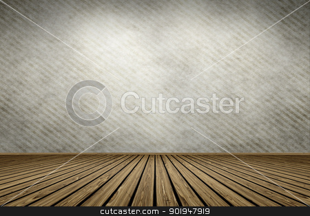 vintage room stock photo, An image of an empty vintage room by Markus Gann