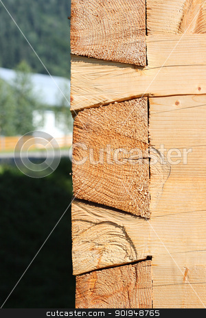 wall stock photo, wall wooden house by Oleksandr Pakhay