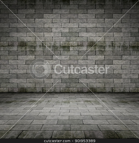 dark cellar stock photo, An image of a dark cellar background by Markus Gann