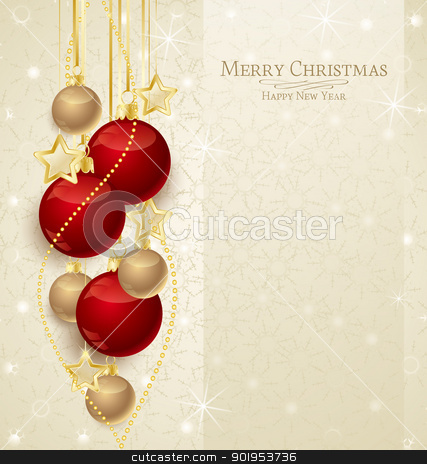 Christmas Background Stock Vector