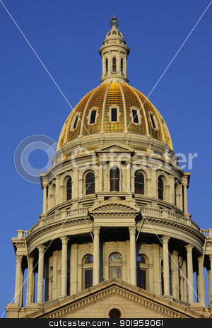 Colorado capital stock photo, Architecture of Colorado state capital building by Sreedhar Yedlapati